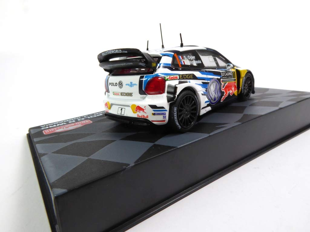 Set of 2 Cars 1/43 Winner Monte Carlo WRC: R Ogier Polo + Lancia ...