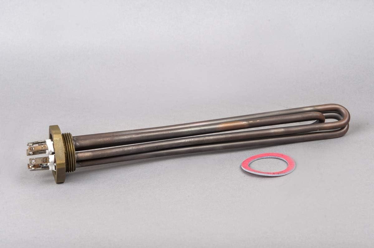 Elektroheizstab Heizstab Heizelement f/ür Wamwasserboiler Warmwasserspeicher 6000W 5//4 FI.8.5