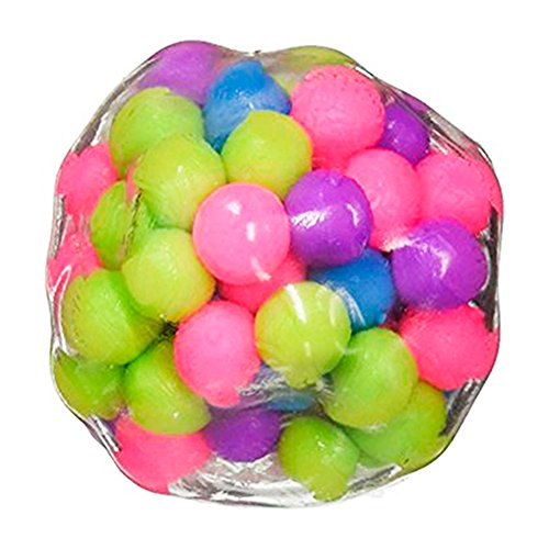 DNA Stress Relief Ball by VITAL TOYS - 3 Pack- Squeezing Balls- Sensory Rubber Ball For Kids & Adults- Ideal for Autism, Anxiety, ADHD & More