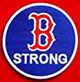 Boston Red Sox Boston Strong MLB Embroidered Iron On Patches Hat Jersey 3""