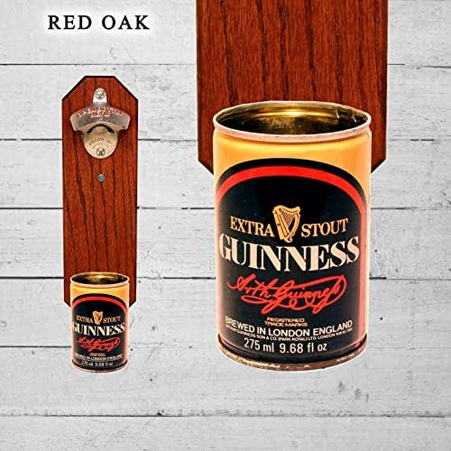 Vintage style cast iron Guinness bottle opener beer stout wall mounted