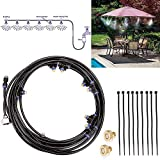 WUYASTA 8M Outdoor Misting Cooling System Kit for