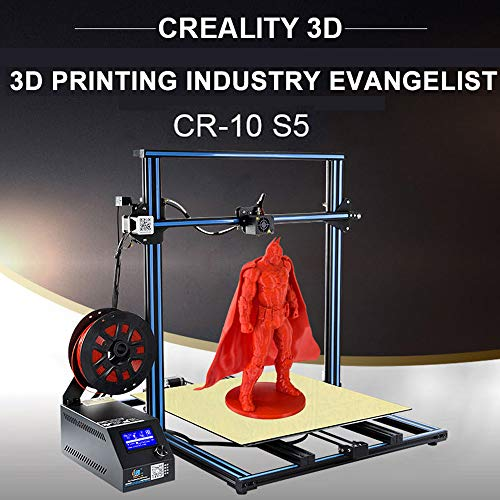Upgrade! 2019 Official Creality CR-10S S5 Ultra Large 3D Printer 500x500x500mm (Best Dual Extruder 3d Printer 2019)