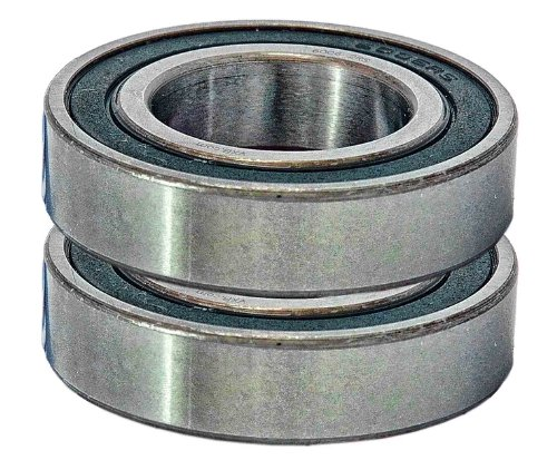 6006-2RS Ball Bearings, 30x55x13 mm, Sealed (Set of 2)
