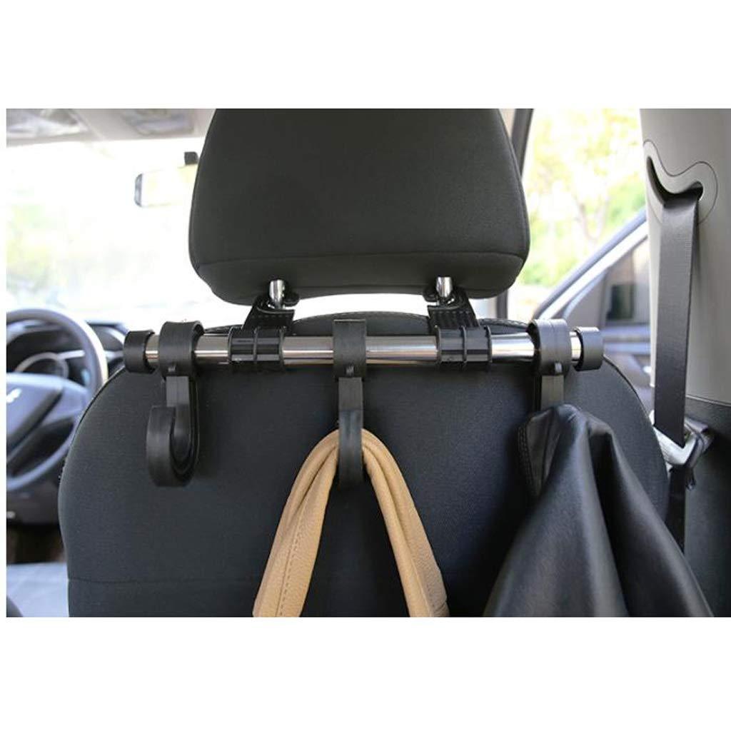 Car Multi-Function car hook seat Back Hook car seat Back Hook Hanging Creative car Interior Small Hook (Color : Black, Size : 5.39.72.8cm) by Car hook (Image #5)