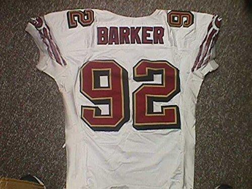 (Roy Barker San Francisco 49ers Game Jersey)