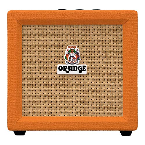 Orange Crush Mini 3-Watt Micro Amp - Orange (Portable Guitar Amp)
