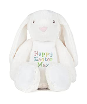 Withcongratulations personalised easter bunny zippie rabbit teddy withcongratulations personalised easter bunny zippie rabbit teddy bear bunny soft toy childrens easter negle Choice Image