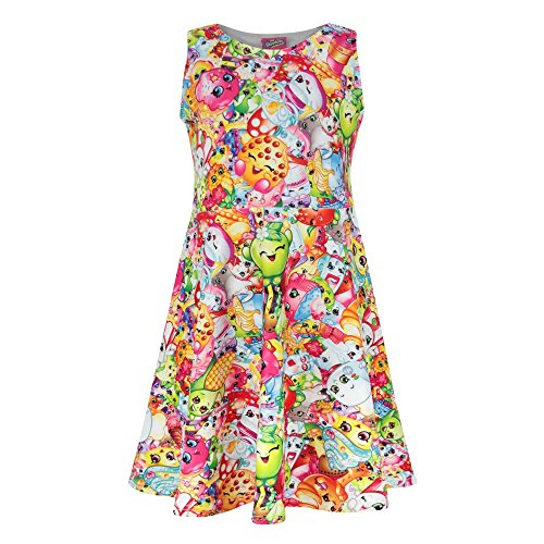 Shopkins Girl's Skater Dress (5-6 Years) ()