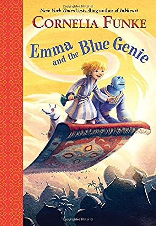book cover of Emma and the Blue Genie