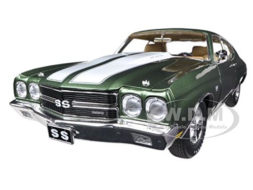 1970 CHEVROLET CHEVELLE 454 LS6 PILOT CAR GREEN 1/18 1 OF 996 BY ACME A1805504 ^G#fbhre-h4 8rdsf-tg1371455 by Fotelilona
