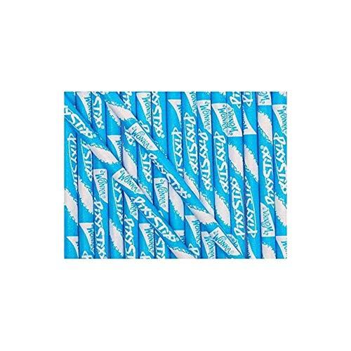Wonka Pixy Stixs Candy Powder Blue 6 Inch 50 Count