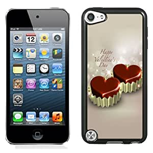 Fashion DIY Custom Designed iPod Touch 5th Generation Phone Case For Love Heart Cupcakes Phone Case Cover