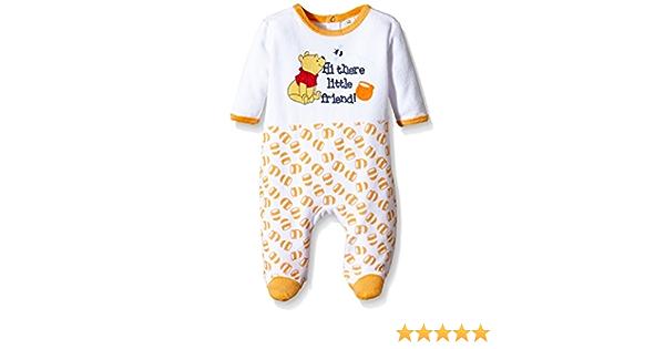 Disney Winnie The Pooh Little Friend Pijama, Naranja, 12-18 ...