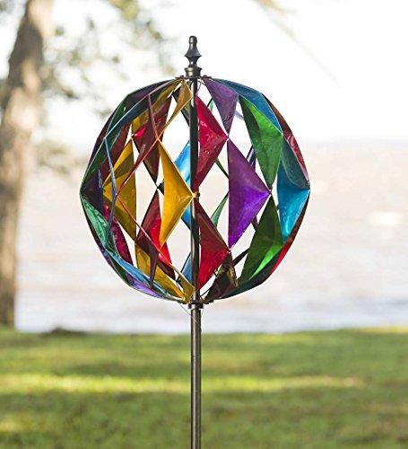 Harlequin Ball Wind Spinner