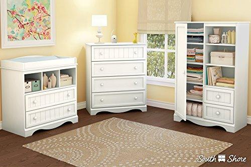 Buy white wicker furniture dresser