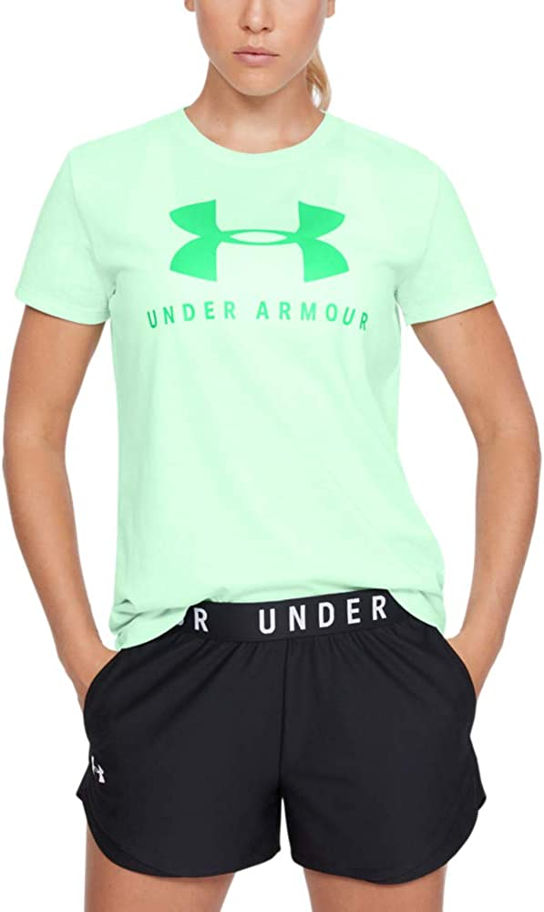 Homme Under Armour Graphic Big Logo Classic Crew Manches Courtes