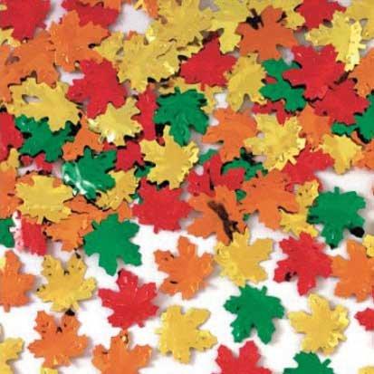 Maple Leaves Metallic Foil Confetti for $<!--$3.49-->