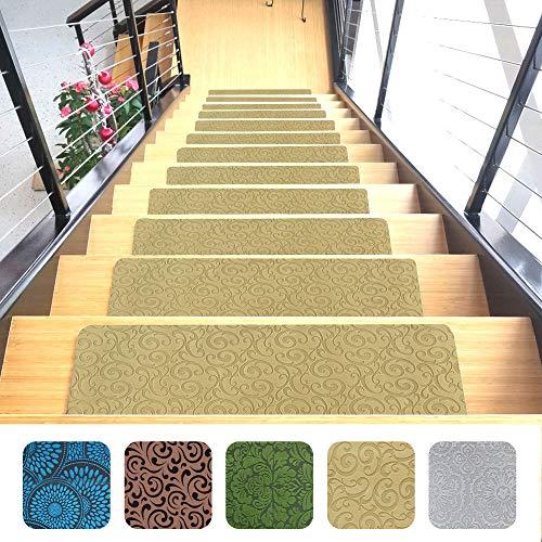 Indoor Stair Mats | Set of 14 | Beige 9