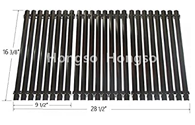 Hongso PCA343-NEW Porcelain Steel Cooking Grid Replacement for Select Uniflame Gas Grill Models, Sold as a set of 3; aftermarket replacements