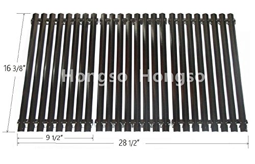 Hongso PCA343-NEW Porcelain Steel Cooking Grid Replacement for Select Uniflame Gas Grill Models, Sold as a set of 3; aftermarket replacements (Replacement Bbq Grates)