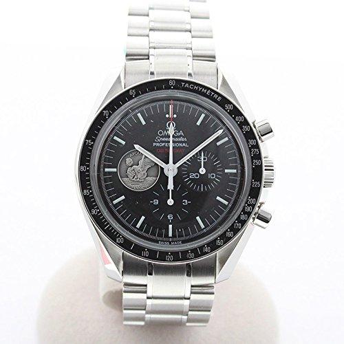 [オメガ]OMEGA 腕時計 スピードマスター プロフェッショナル 手巻 月面着陸40周年 世界7969本限定 OH済 311.30.42.30.01.002 メンズ 中古 B07CRKJF5V