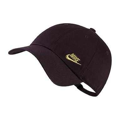 Nikee - Gorra de béisbol - para Mujer Negro Dorado Talla única ... 6e4350e22a5