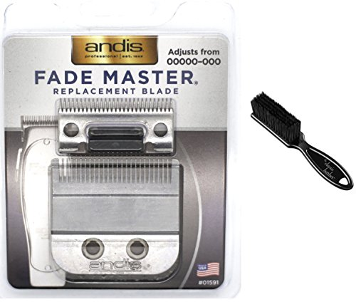 Andis Fade Master Replacement Blade (01591) Kit Includes Classic Barber Blade Brush