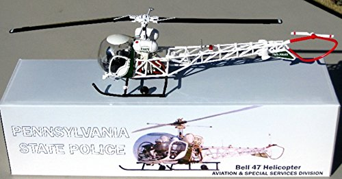 Bell Helicopter - First Response / Corgi 1/43 PSP Pennsylvania State Police Bell 47 Helicopter