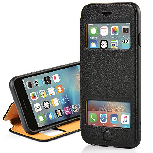 leather KICKSTAND ZVE Shockproof Protective