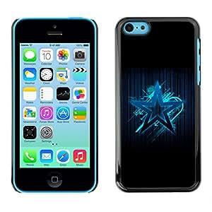 Stuss Case / Funda Carcasa protectora - The Blue Star - iPhone 5C
