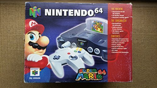 LIMITED EDITION NINTENDO 64 WITH SUPER MARIO 64 N64 CONSOLE