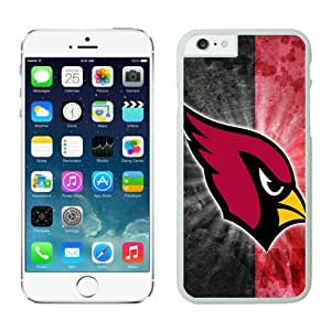 Arizona Cardinals iPhone 6 Cases 24 White 4.7 inches67593_53134-iPhone 6 Case - Anti-Scratch Hard Case for Iphone 6 4.7(inch),Case for for iPhone 6 Verizon by lolosakes