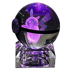 Crystal Ball With LED Light