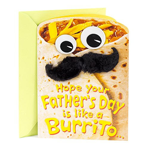 Hallmark Funny Father's Day Greeting Card (Burrito)