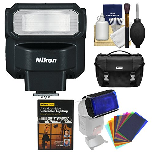 Nikon SB-300 AF Speedlight Flash with Case + Lighting DVD + Flash Filters + Kit by Nikon