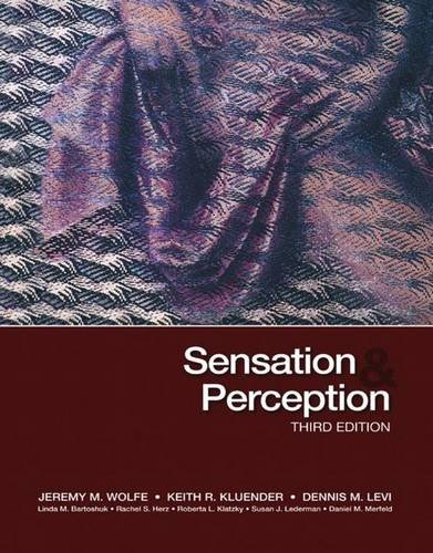 Sensation & Perception, Third Edition