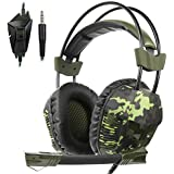 SA921Plus 3.5mm Wired Over Ear Stereo Gaming...