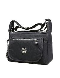 Bessky® Fashion Womens Girls Waterproof Nylon Shoulder Bags Casual Shoulder Bags Handbag