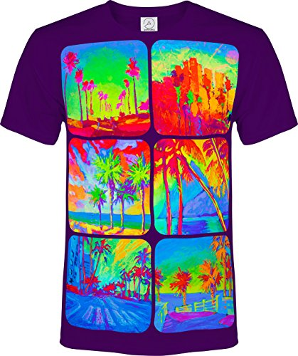 Halloween Parties In Miami (aofmoka Miami Wild Beach Halloween Themed Party Printed T-Shirt Man Woman)
