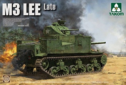 Takom 1:35 US Medium Tank M3 Lee Late Plastic Model for sale  Delivered anywhere in USA