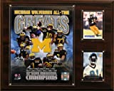 NCAA Football Michigan Wolverines All-Time Greats Photo Plaque - Best Reviews Guide