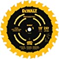 DEWALT DW7124PT 10-Inch 24 Tooth ATB Ripping Saw Blade with 5/8-Inch Arbor and Tough Coat Finish from DEWALT