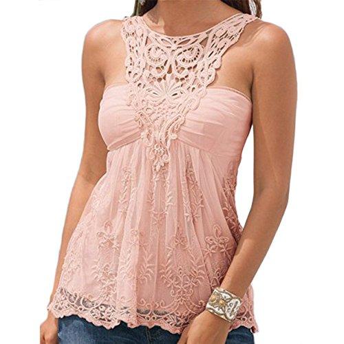 BOBORA - Camiseta sin mangas - para mujer Rosa