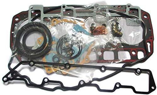 Compatible with 3TN75-RJ 3TN75L//E Full Gasket Set for Yanmar Engine John Deere 855 856 Tractor