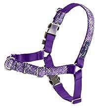 PetSafe Bling Easy Walk Harness, Large, Purple