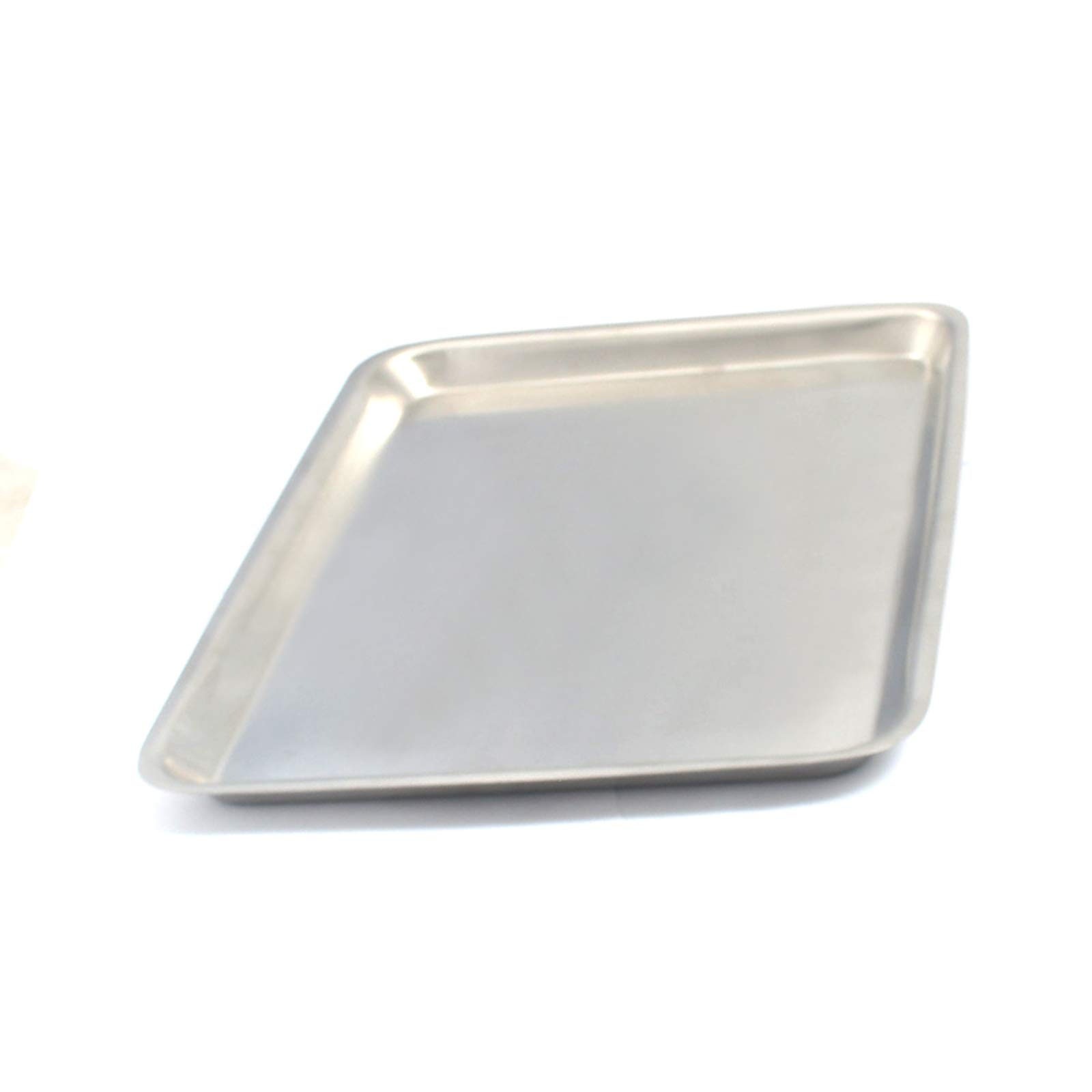 DDP Stainless Steel Instrument Tray 8-5/8'' X 6-5/8'' X 1/2'' Piercing Tattoo Instrument by DDP