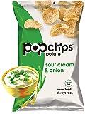 PopChips, Sour Cream & Onion Potato Chips, 0.8 oz