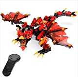 Generic Global Drone RC Dragon Robots for Kids Dragon Building Blocks Educational Toy