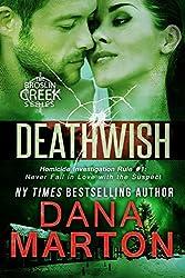 Deathwish: A Small-Town Christmas Romantic Mystery (Broslin Creek series Book 6)